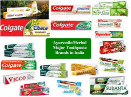 Image result for toothpaste brands
