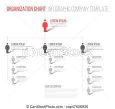Minimalist Hierarchy 3d Chart Minimalist Company Organization