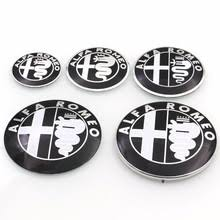 alfa romeo logo black and white. carstyling black 40mm 50mm 56mm 71mm 74mm alfa romeo logo emblem badge sticker for mito 147 156 159 166 giulietta spide gt etc and white