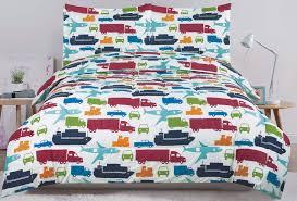beatrice transfer full bed set bedding comforter car truck plane boat semi automobile