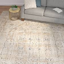 improved ivory and beige area rugs laurel foundry modern farmhouse abbeville rug reviews