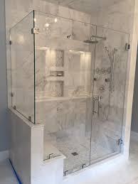 shower door corner