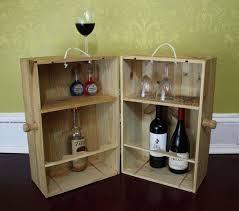 photo of wine crate minibar