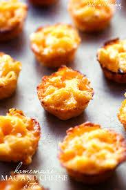 homemade mac and cheese bites