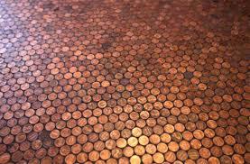unique penny tile design