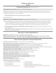 Resume Force Protection Officer Canadianlevitra Com