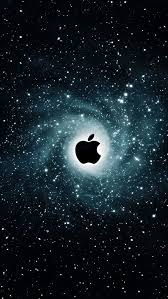 cool apple logos in space. iphone 5 wallpaper apple galaxy cool logos in space