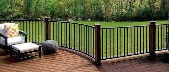 deck railing kits designs ideas home depot deck railing systems