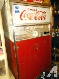 Vending Machines For Sale Ebay New Vintage Coca Cola Refrigerator White Kitchen Cabinets Cinnamonhoneyco