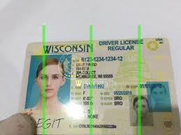 Scannable Fake Ids Cards Wisconsin Id Legitfakeid