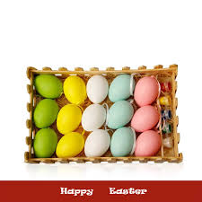 Easter Egg Designs For School Amazon Com 15pcs Beautifully Packaged Easter Colorful Cute