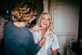 why have a makeup artist on your wedding day