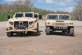 New Humvee Design How The Humvee Compares To The New Oshkosh Jltv Motor Trend