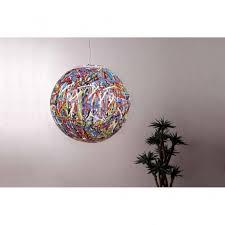 reload italian designer multi coloured globe pendant light