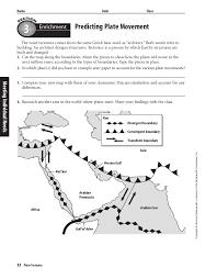 Continental Drift Worksheet Worksheets for all | Download and ...