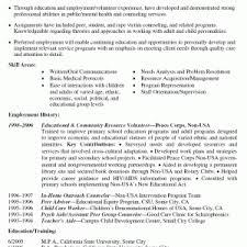 volunteer resume template awesome volunteer work experience on resume example volunteer resume templates cover letter sample cover letter for volunteer work