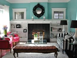 Living Room Bookcases How To Build Bookshelves Around A Fireplace Hgtv