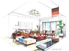 interior design bedroom drawings. Interior Designs Sketches Design Drawing Enchanting Style Bedroom Or Other Drawings O