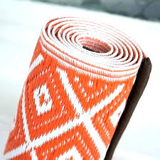 outdoor plastic rug recycled plastic outdoor rugs mesmerizing rug in orange white outdoor plastic rugs outdoor