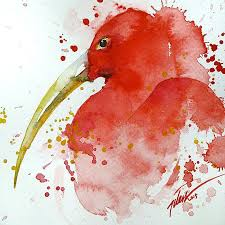 colorful animal watercolor paintings tilen ti 1