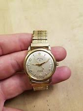 mens 10k gold watch vintage mens lord elgin 30 jewels 10k gold filled wristwatch watch