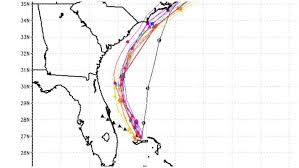 Dorian Spaghetti Models To Track Hurricane Sept 3 Heavy Com
