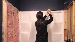 how to install bathtub wall set ideas