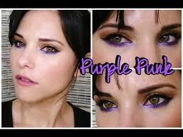 makeup purple punk eye makeup tutorial argentina