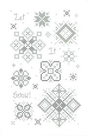 Cross Stitch Chart Let It Snow Rosewood Manor Rosewood