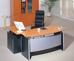 modern office look. Office \u0026 Workspace. Modern Furniture Design Featuring Glossy Orange Table L-shape Look F