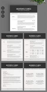 Resume 2 Pages Inspiration 48 Pages Resume Set CV Template CM 1348119 Full Download From