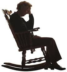 rocking chair silhouette. home / people women a black woman relaxing in rocking chair silhouette