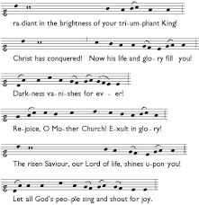 exultet sheet music the easter liturgy the church of england