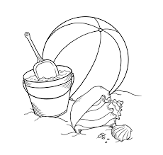 Small Picture Beach Ball Coloring Pages Clip Art Library