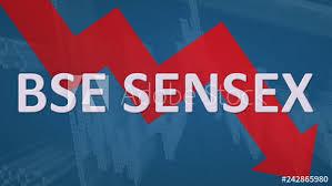 The Bse Sensex Stock Market Index Of Bombay Stock Exchange