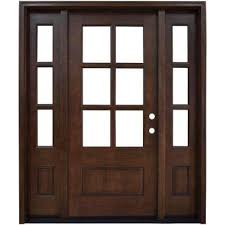 exterior front doors with sidelightsSingle door with Sidelites  Front Doors  Exterior Doors  The