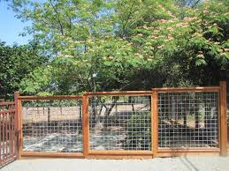 wire fence gate. Image Of: Hog Wire Fence Plan Gate