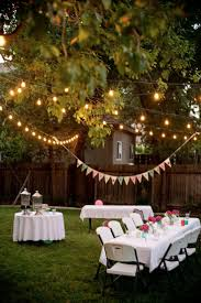 Backyard Party Ideas For Adults backyard party lighting