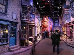 harry potter set diagon alley