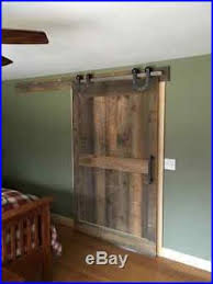 sliding barn door hardware 4 wheels horseshoe with 8 ft track 96 made in usa