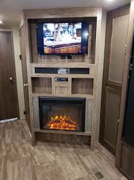 greystone 26 electric fireplace with logs recessed mount black greystone rv fireplaces 324 000065