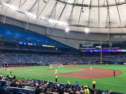 Tropicana Field Seating Chart View Tropicana Field Section 126 Home Of Tampa Bay Rays