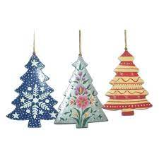 paper mache tree shaped christmas