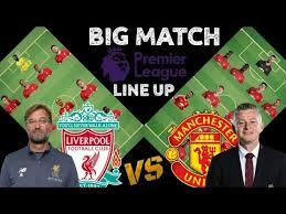 Hollyoaks star callum kerr reveals coronavirus diagnosis. Liverpool Vs Manchester United Line Up 2021 Predictions Big Match Liverpool Vs Manchester United Youtube