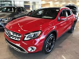 Find out about our fleet incentives for the gla! New 2019 Mercedes Benz Gla 250 4matic Suv Jupiter Red Oc19 270