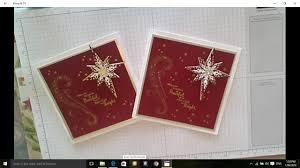 Stampin Up Star Of Light Cards Epis 3 Stamping With Donnag Stampin Up Star Of Light Starlight Thinlet Bundle Christmas Card