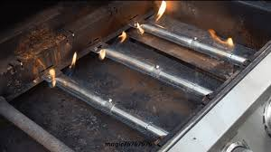 learn how to fix a gas grill replace rusted out burner on