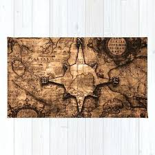 compass rose rug antique world map compass rose rug compass rose throw rug
