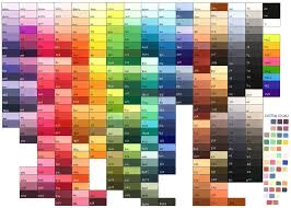 Full Color Chart Download For Full Image I Recommend Printing On The Paper