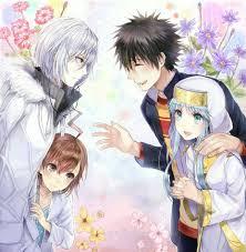Index Light Novel To Aru Majutsu No Index A Certain Magical Index Anime